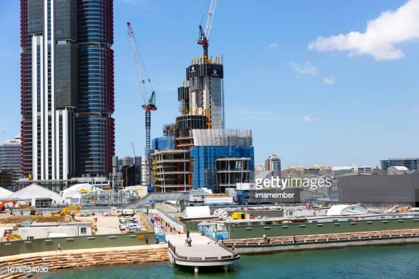 クラウン ・ カジノ、オーストラリアのシドニーのバランガルー建設現場