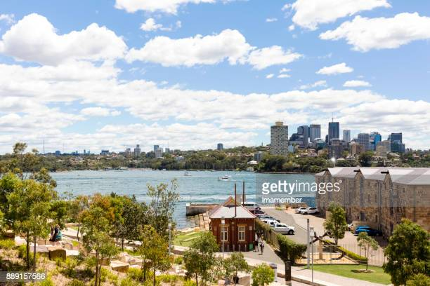 Barangaroo Reserve, sky background with copy space
