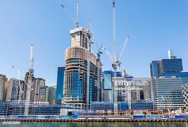 Barangaroo South construction site