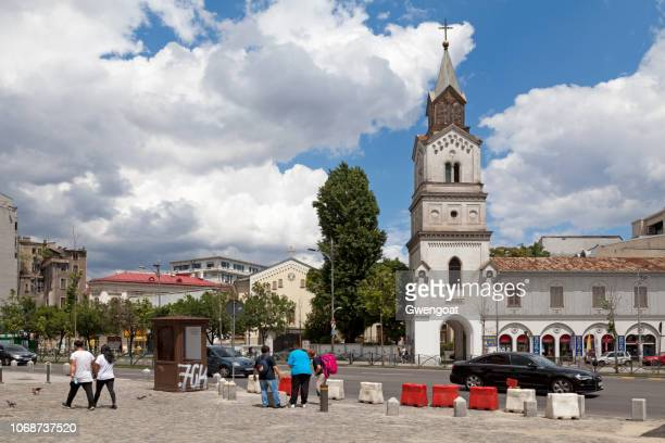 baratia church in bucharest - gwengoat stock pictures, royalty-free photos & images