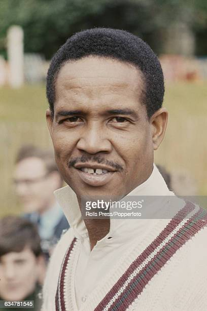 Barbados born cricketer and captain of the West Indies cricket team, Garfield Sobers pictured at the start of a West Indies tour of England in May...