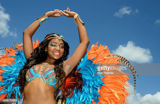 barbados carnival - traditional festival stock pictures, royalty-free photos & images