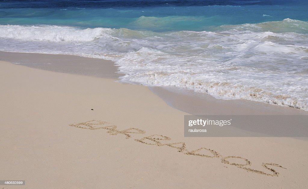 Barbade Inscribed par les vagues : Photo