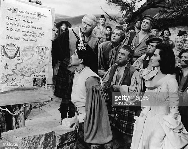 Barbadosborn American dancer and actor Hugh Laing American actress Cyd Charisse Northern Irish actor Albert Sharpe and a crowd of actors in the roles...