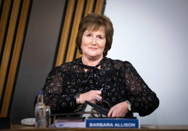 GBR: Scottish Government Director Barbara Allison Gives Evidence To Scottish Parliament committee