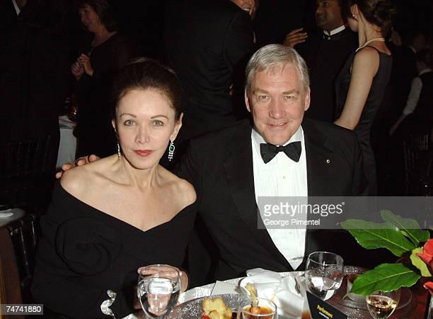 Barbara Amiel and Conrad Black at the Toronto Centre for the Performing Arts in Toronto Canada