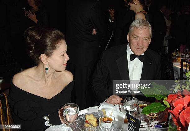 Barbara Amiel and Conrad Black during Macleans Magazine Celebrates Its 100th Anniversary Gala at Toronto Centre for the Performing Arts in Toronto...