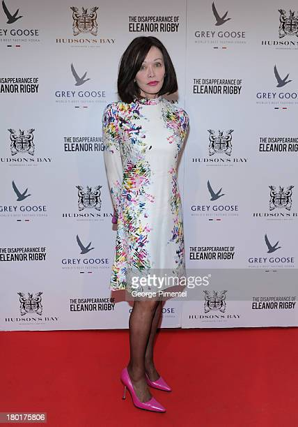 Barbara Amiel arrives at The Disappearance of Eleanor Rigby dinner hosted by Hudson's Bay and Grey Goose Vodka during the 2013 Toronto International...