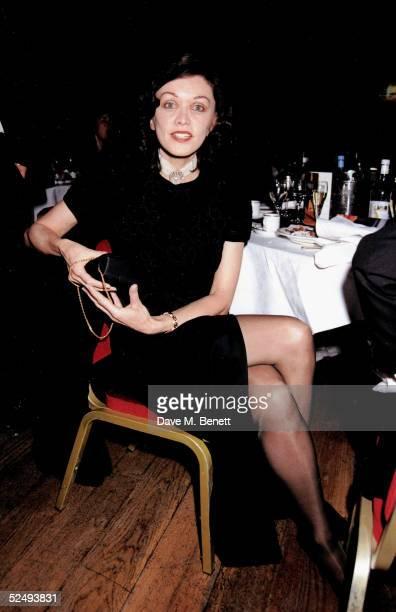 Barbara Amiel at the Whitbread Book Awards at January 25 1995 in London