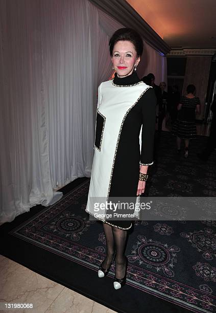 Barbara Amiel attends the 2011 Scotiabank Giller Prize at the Four Seasons Hotel on November 8 2011 in Toronto Canada