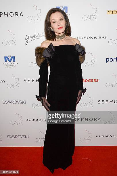 Barbara Amiel attends the 2nd Annual Canadian Arts And Fashion Awards held at the Fairmont Royal York Hotel on January 31 2015 in Toronto Canada