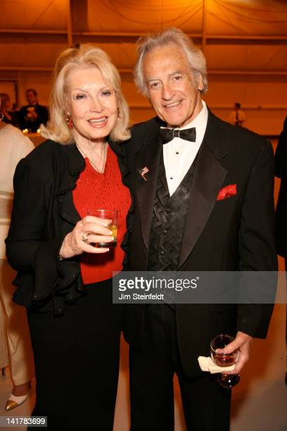 Barbara and Bill Marx pose for a portrait at the Palm Springs Air Museum Gala 2012 in Palm Springs, California on February 10, 2012.