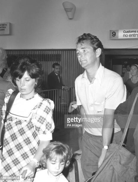 Barbara and Brian Clough with daughter Elizabeth arrive back from Alicante where the family had being enjoying a holiday so he can take up his new...
