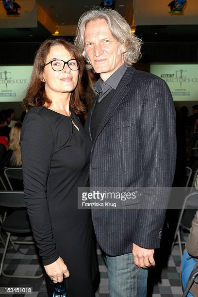 Barbara Auer and Martin Langer attend the TELE 5 Directors Cut at Sofitel on October 5 2012 in Hamburg Germany