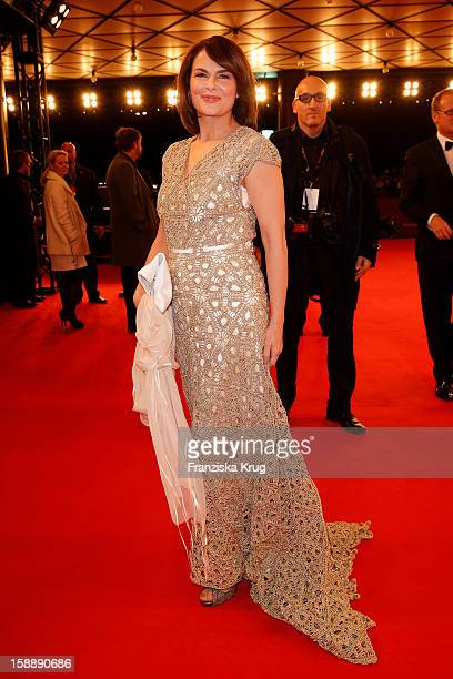 Barbara Auer attends the 'BAMBI Awards 2012' at the Stadthalle Duesseldorf on November 22 2012 in Duesseldorf Germany