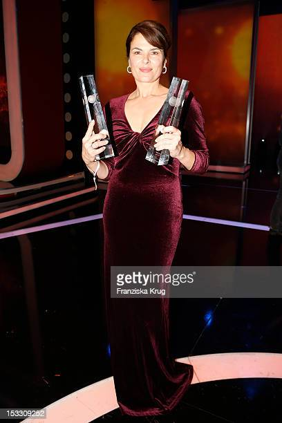 Barbara Auer attends the German TV Award 2012 at Coloneum on October 2 2012 in Cologne Germany