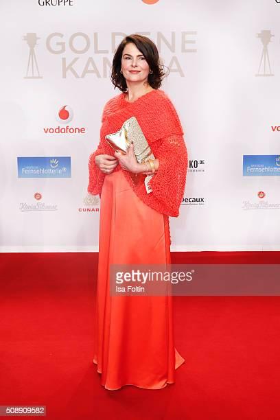 Barbara Auer attends the Goldene Kamera 2016 on February 6 2016 in Hamburg Germany