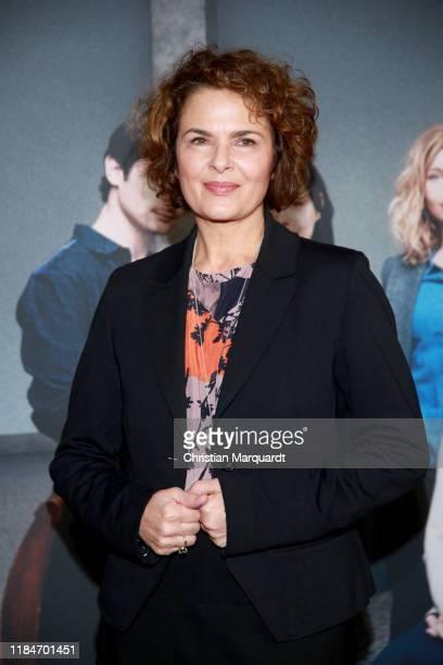 """Barbara Auer attends the premiere of the movie """"Der Preis der Freiheit"""" at Stasi Zentrale on October 31, 2019 in Berlin, Germany."""