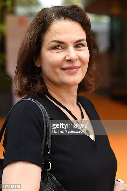 Barbara Auer attends the ZDF reception during the Munich Film Festival at Hugo's on June 30 2015 in Munich Germany