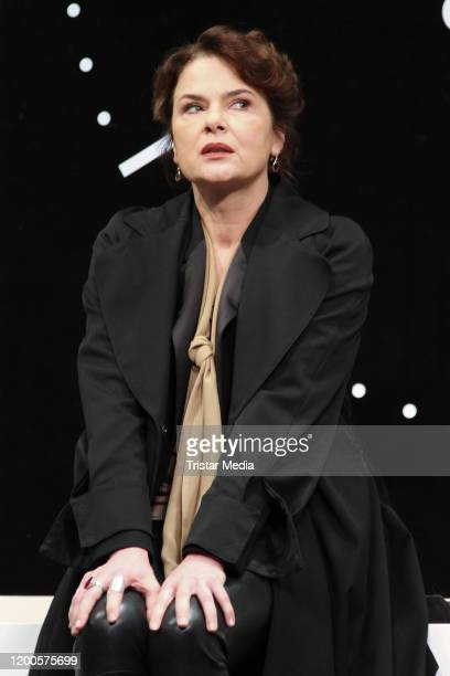 Barbara Auer during the photo call Heilig Abend at St Pauli Theater on January 17 2020 in Hamburg Germany