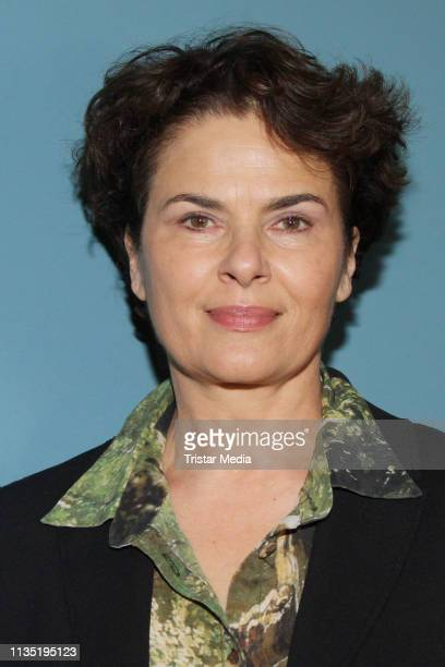 """Barbara Auer during the """"Vakuum"""" Photocall on March 11, 2019 in Hamburg, Germany."""