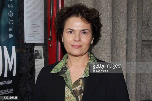 Barbara Auer during the Vakuum Photocall on March 11 2019 in Hamburg Germany
