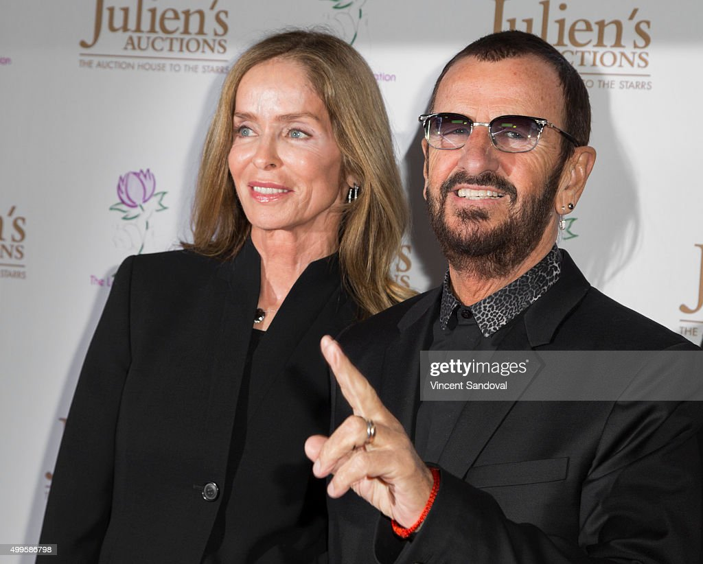 Ringo Starr And Barbara Bach Julien's Auctions Event : News Photo