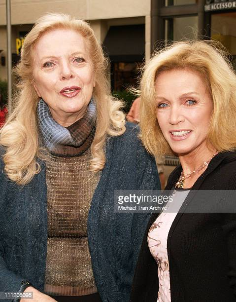 Barbara Bain and Donna Mills during The Screen Actors Guild Presents Premiere Literary Event at The Grove in Los Angeles California United States