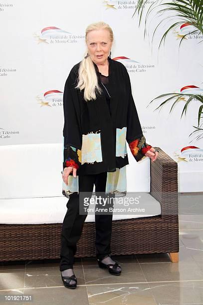 09 09 Barbara Bain attends a photocall at the Grimaldi Forum on June 9 2010 in MonteCarlo Monaco
