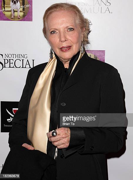 Barbara Bain attends 'Nothing Special' Los Angeles premiere at Laemmle Music Hall on November 11 2011 in Beverly Hills California