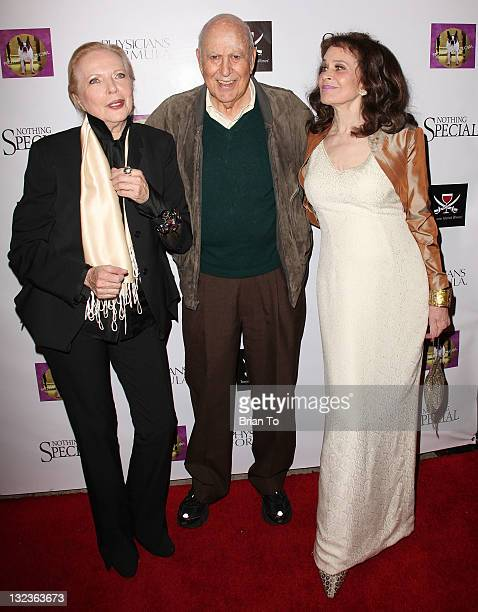 Barbara Bain Carl Reiner and Karen Black attend 'Nothing Special' Los Angeles premiere at Laemmle Music Hall on November 11 2011 in Beverly Hills...