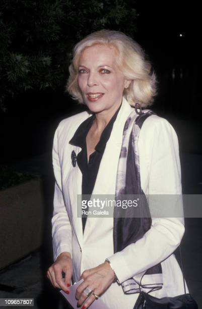 Barbara Bain during Screening of 'No Way Out' at Academy Theater in Beverly Hills California United States