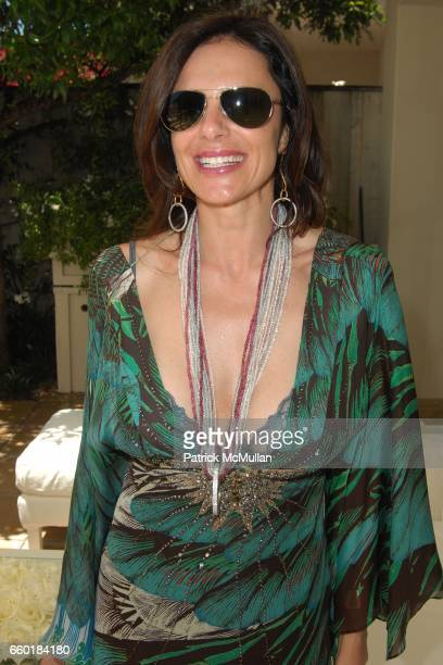 Barbara BaldieriMarch attends FARAONE MENNELLA and BARBARA BALDIERI MARCH host a benefit for March to the Top in Malibu at Private Residence on July...