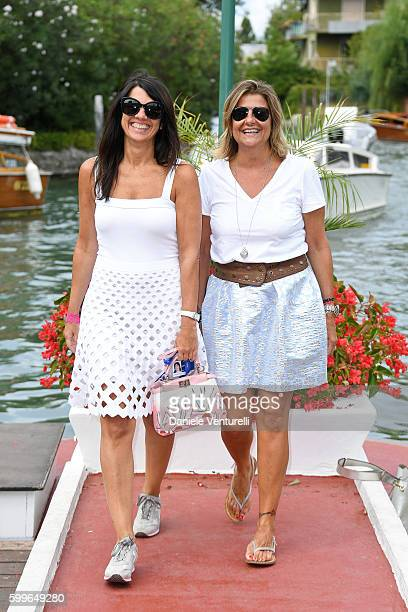 Barbara Ballardini and Laura Sordo arrive at Lido during the 73rd Venice Film Festival on September 6 2016 in Venice Italy