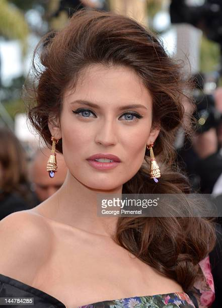 """Barbara Balti attends the """"Lawless"""" Premiere during the 65th Annual Cannes Film Festival at Palais des Festivals on May 19, 2012 in Cannes, France."""