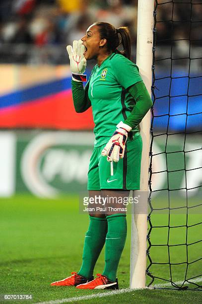 Barbara BARBOSA of Brazil during the International friendly match between France women and Brazil women on September 16 2016 in Grenoble France
