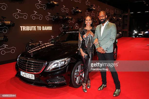Barbara Becker and Chris Glass attend the Tribute To Bambi 2014 on September 25 2014 in Berlin Germany