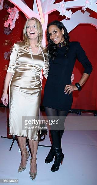 Barbara Becker and Frauke Ludowig attend the 'Barbara Day' on December 4 2009 in Munich Germany