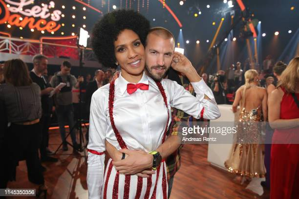 Barbara Becker and partner Juan Lopez Salaberry are seen during the 5th show of the 12th season of the television competition Let's Dance on April 26...