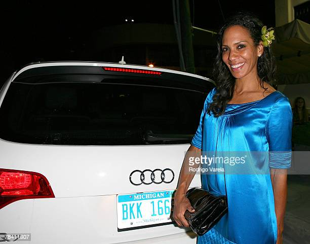 Barbara Becker arrives at The Audi Wire Frame Exhibit At Design Miami on December 6 2007