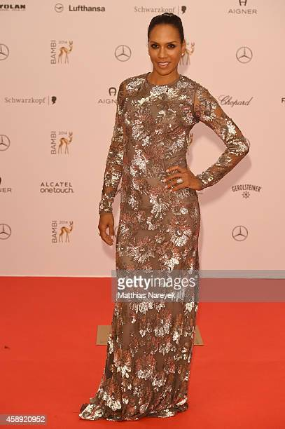 Barbara Becker arrives at the Bambi Awards 2014 on November 13 2014 in Berlin Germany