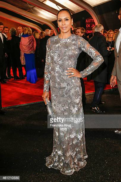 Barbara Becker arrives at the Bambi Awards 2014 on November 13, 2014 in Berlin, Germany.