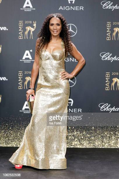 Barbara Becker attends the 70th Bambi Awards at Stage Theater on November 16 2018 in Berlin Germany