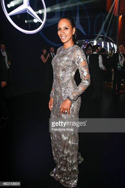 Barbara Becker attends the Bambi Awards 2014 after show party on November 14 2014 in Berlin Germany