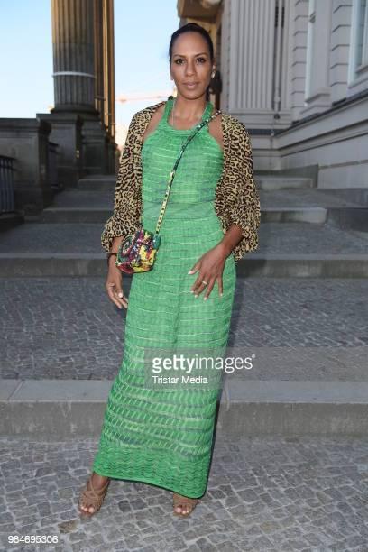 Barbara Becker attends the BURDA Summer Party on June 26, 2018 in Berlin, Germany.