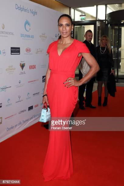 Barbara Becker attends the charity event Dolphin's Night at InterContinental Hotel on November 25 2017 in Duesseldorf Germany