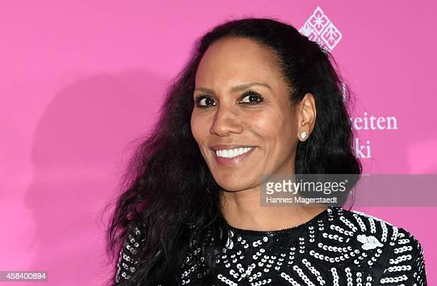 Barbara Becker attends the 'CLOSER Magazin Hosts SMILE Award 2014' at Hotel Vier Jahreszeiten on November 4 2014 in Munich Germany
