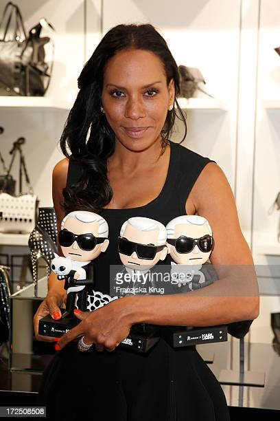 Barbara Becker attends the Karl Lagerfeld Concept Store Opening on July 02 2013 in Berlin Germany