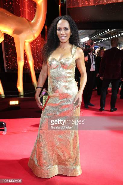 Barbara Becker during the Bambi Awards 2018 Arrivals at Stage Theater on November 16, 2018 in Berlin, Germany.