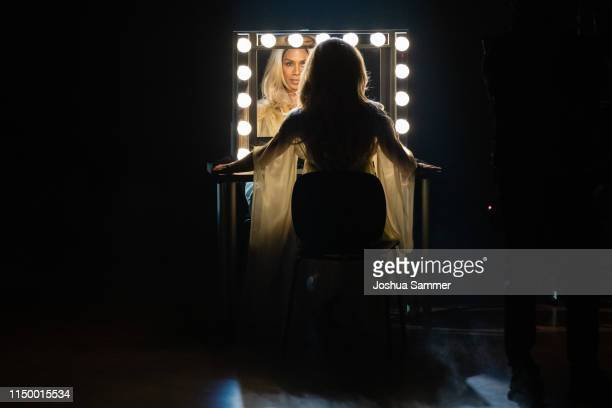 Barbara Becker performs on stage during the 8th show of the 12th season of the television competition Let's Dance on May 17 2019 in Cologne Germany